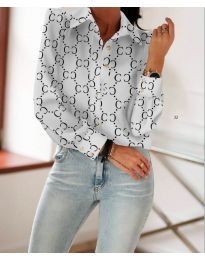 Shirts - kod 653 - white