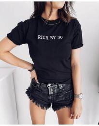 T-shirts - kod 951 - black