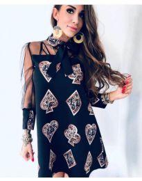 Dresses - kod 212 - black
