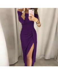 Dresses - kod 6045 - purple