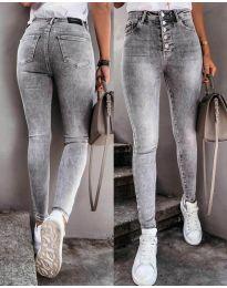 Jeans - kod 3646 - 1 - gray