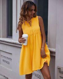 Dresses - kod 0286 - mustard