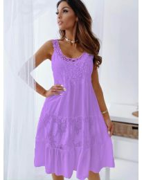 Dresses - kod 3232 - purple