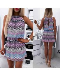 Dresses - kod 3317 - purple