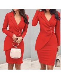 Dresses - kod 540 - red
