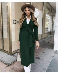 Woman coat - kod 4941 - army green