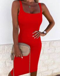 Dresses - kod 8899 - red