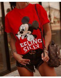 T-shirts - kod 589 - 3 - red