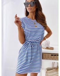 Dresses - kod 6634 - sky blue