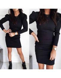 Dresses - kod 3519 - black