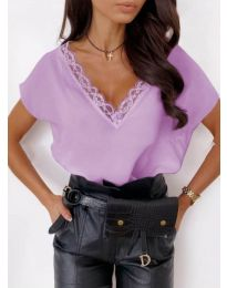 T-shirts - kod 433 - purple