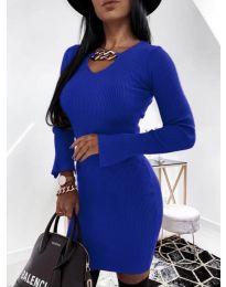 Dresses - kod 5666 - dark blue