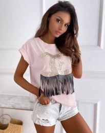 T-shirts - kod 4713 - powder