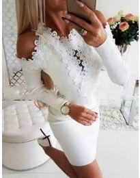 Dresses - kod 568 - white