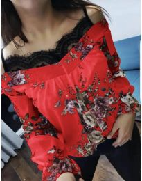Blouses - kod 796 - red