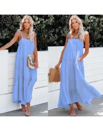 Dresses - kod 551 - light blue