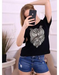 T-shirts - kod 3541 - black