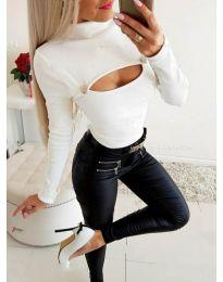 Blouses - kod 3501 - white