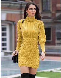 Dresses - kod 187 - mustard