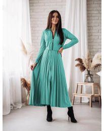 Dresses - kod 1544 - turquoise
