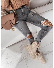 Jeans - kod 4184 - 2 - gray