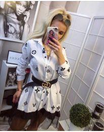 Dresses - kod 870 - white