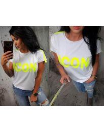 T-shirts - kod 474 - 2 - white