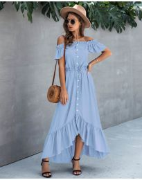 Dresses - kod 564 - light blue