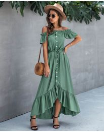 Dresses - kod 564 - green