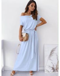 Dresses - kod 7700 - light blue