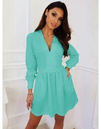 Dresses - kod 089 - turquoise