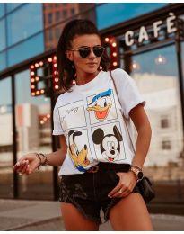 T-shirts - kod 964 - 3 - white