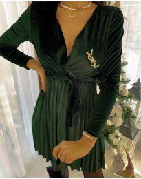 Dresses - kod 8619 - 2 - army green