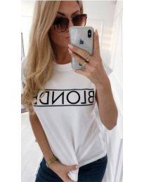 T-shirts - kod 975 - white