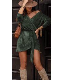 Dresses - kod 238 - green