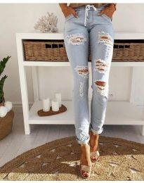 Jeans - kod 3537 - light blue