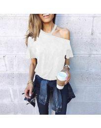T-shirts - kod 3573 - white