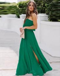 Dresses - kod 8871 - green