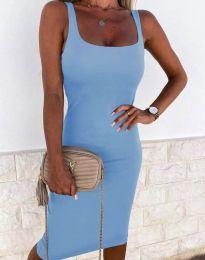 Dresses - kod 8899 - light blue