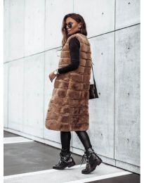 Waistcoats - kod 9153 - brown