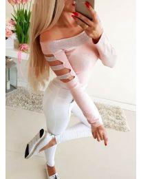 Blouses - kod 3470 - pink