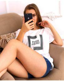 T-shirts - kod 3513 - white