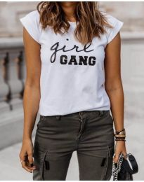 T-shirts - kod 918 - white