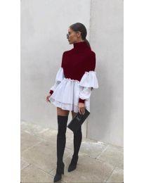 Dresses - kod 1188 - bordeaux