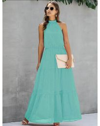 Dresses - kod 8855 - green