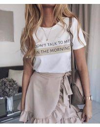 T-shirts - kod 962 - 2 - white