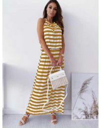 Dresses - kod 1515 - yellow