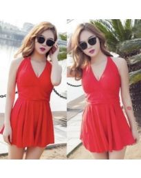 Dresses - kod 876 - red