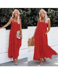Dresses - kod 551 - red