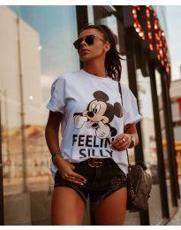 T-shirts - kod 589 - 1 - white